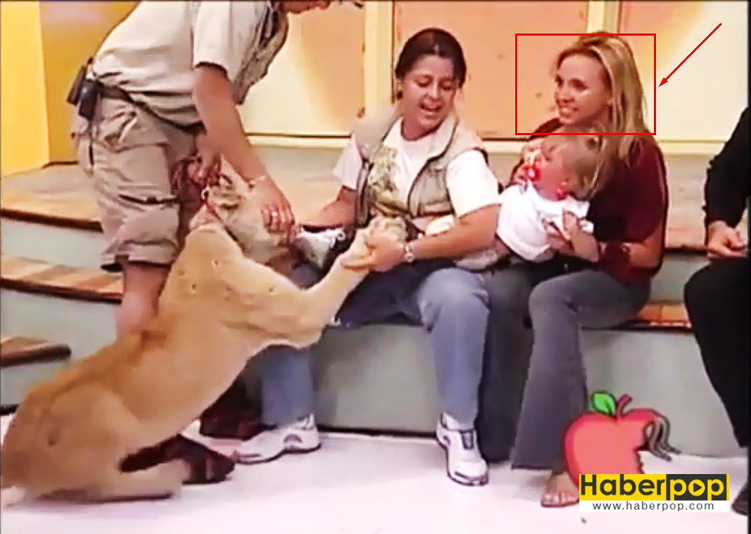 Aslan-bebeğe-canlı-yayında-saldırdı,-annesi-gülerek-izledi-video-haber