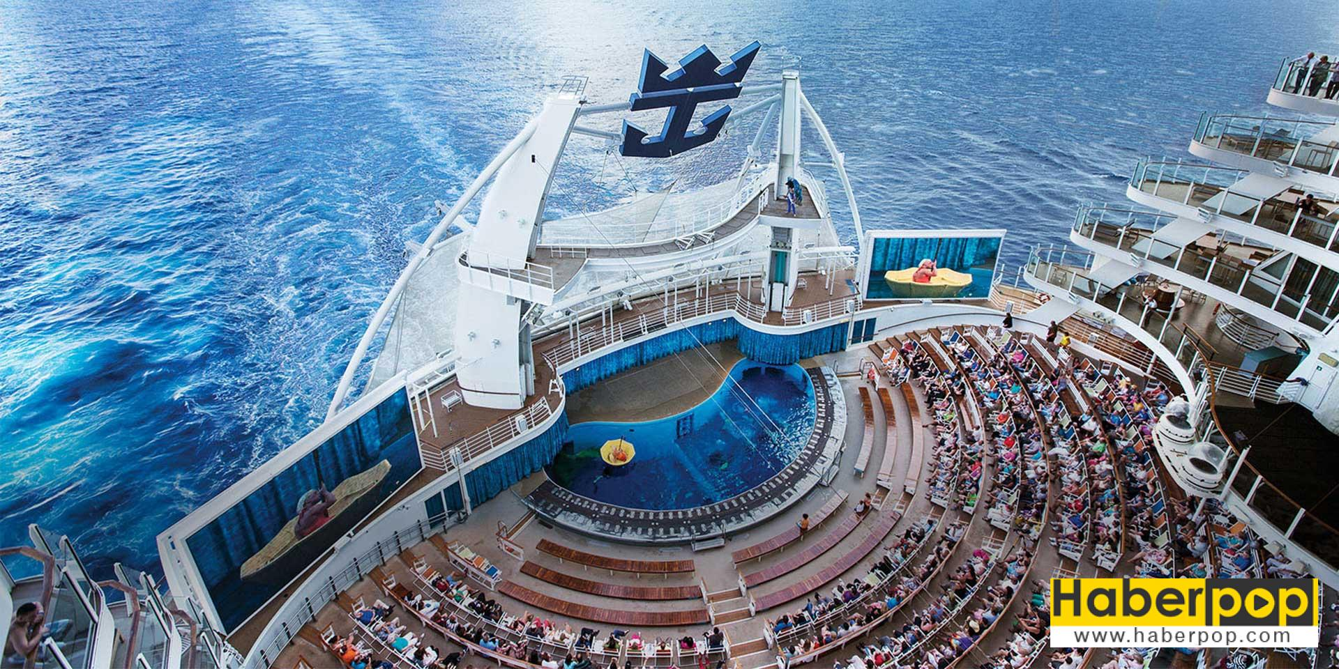 Dünyanın en büyük gemisi: Harmony of the Seas