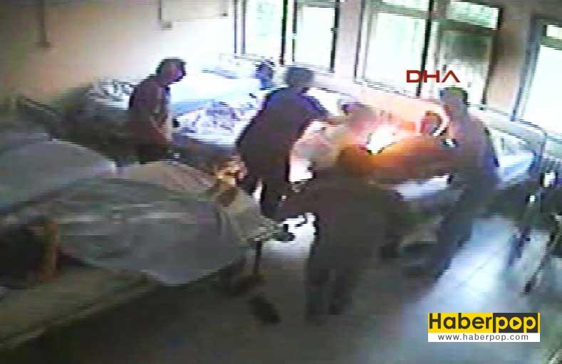 hastanede-bagli-oldugu-yatagi-atese-verdi-izle