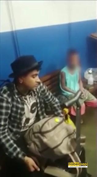 Polisin hava alanında açtığı bavuldan çocuk çıktı video haber