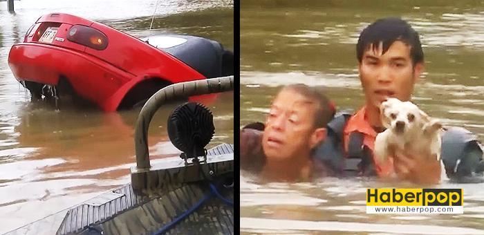 Selde-boğulan-kadını-ve-köpeğini-böyle-kurtardı-video-izleyin