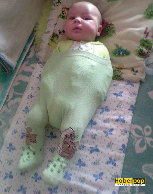 Rüyada Kundaklanmış Bebek