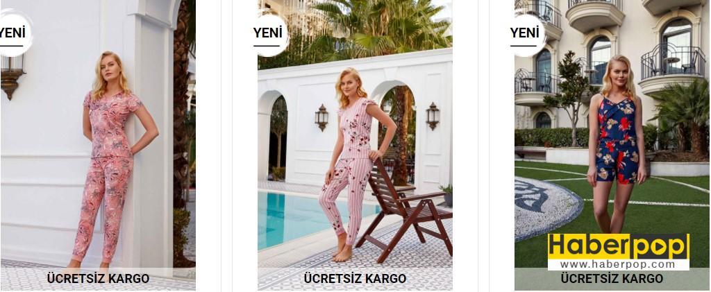 bayan pijama takımı modelleri fiyatı