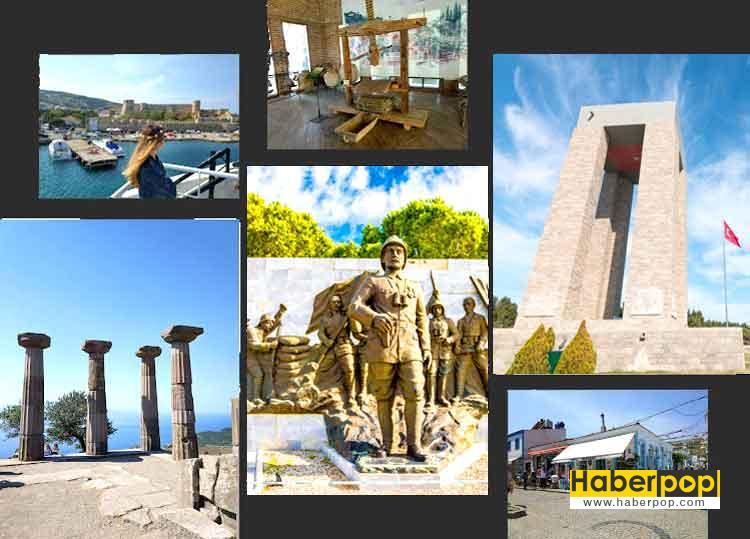 canakkalede-gezilecek-yerler-Truva Ati-Gelibolu Yarrimadasi-Tarihi Milli Parki-canakkale sehitligi-Seyit Onbasi Aniti-Antik Yunan