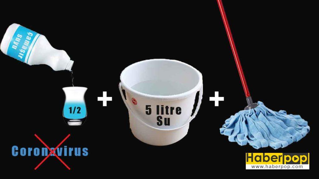 Corona virüsünden nasıl korunulur corona virüsü dezenfektan- coronavirusten nasıl korunulur su çamaşır suyu tuz