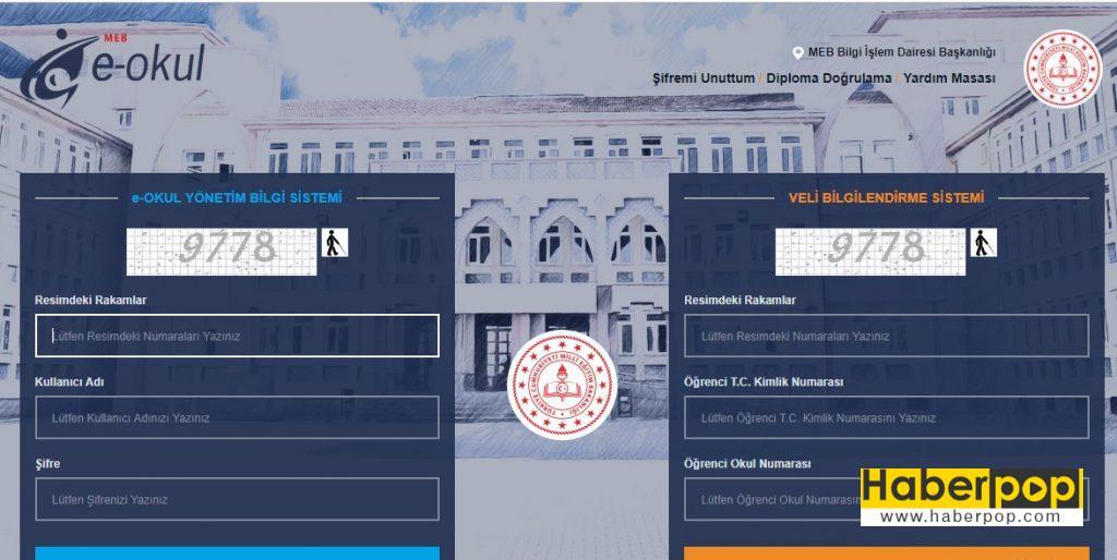 e-okul veli bilgilendirme giris sistemi nasil yapilir nasil girilir kayit sistemi