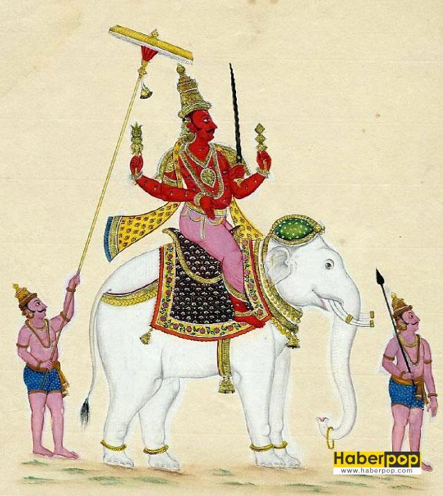 yağmur-tanrısı-indra-hindistan